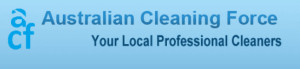 australian cleaning force logo
