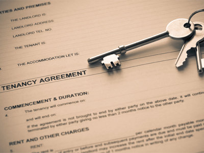 rental agreement paperwork