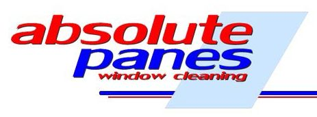 absolute panes window cleaning